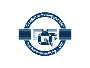 Rechtsanwaltskanzlei Schiebe und Collegen ist nach den Grundsätzen ordnungsgemäßer Insolvenzverwaltung (GOI) zertifiziert