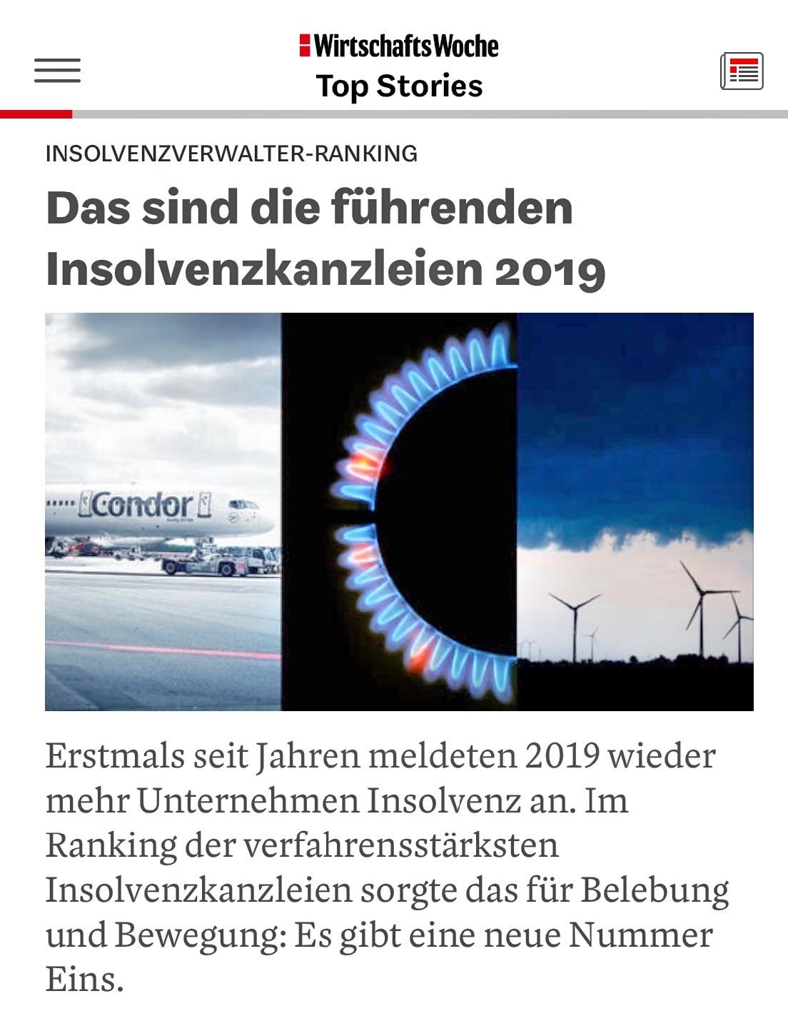 Insolvenzverwalter-Ranking: Schiebe Und Collegen Gehört Erneut Zu Den Meistbestellten Kanzleien Deutschlands